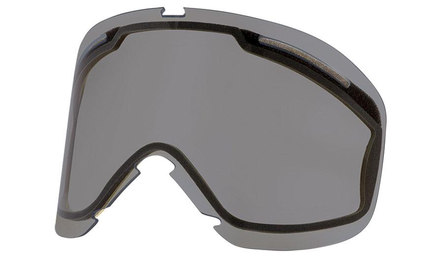 Oakley O Frame 2.0 Pro XL Ski Goggles Replacement Lens Kit - Dark Grey