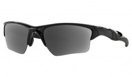 Oakley Half Jacket 2.0 XL Prescription Sunglasses - Polished Black (Gunmetal Icon)