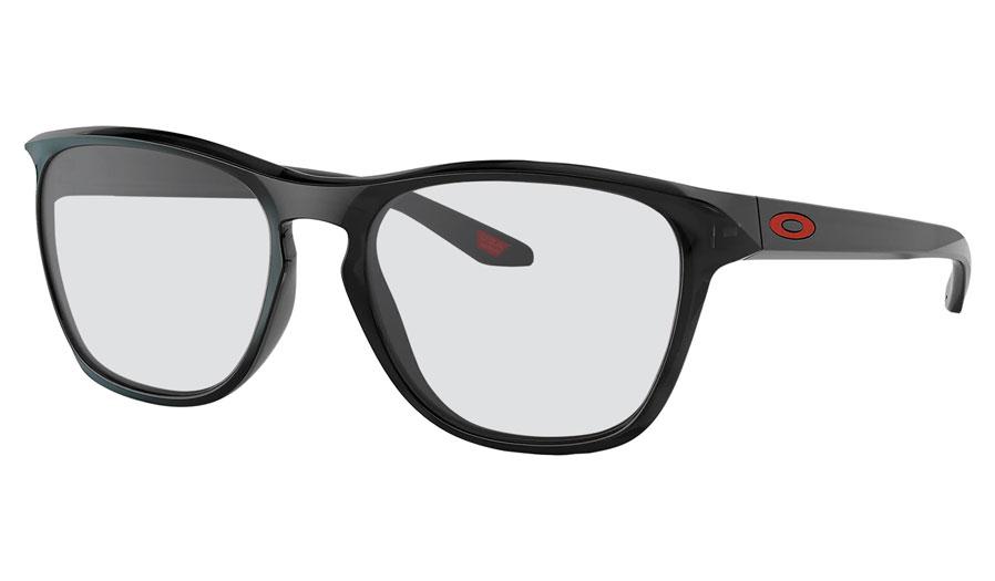 Oakley Manorburn Prescription Sunglasses - Black Ink (Red Icon)