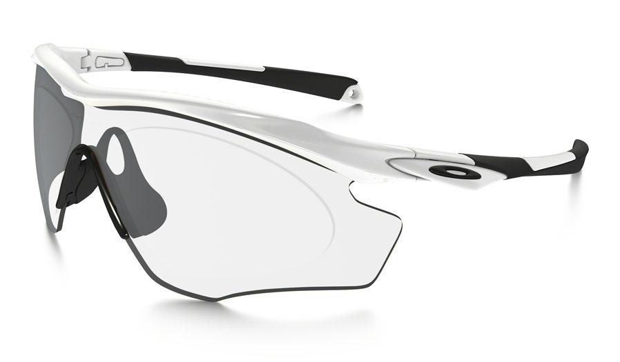 deee85161e8 Oakley M2 Frame XL Prescription Sunglasses - Polished White   Black ...
