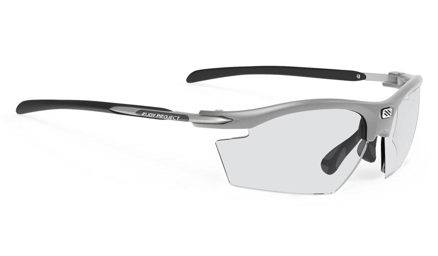 Rudy Project Rydon Prescription Sunglasses - Directly Glazed - Matte Light Grey