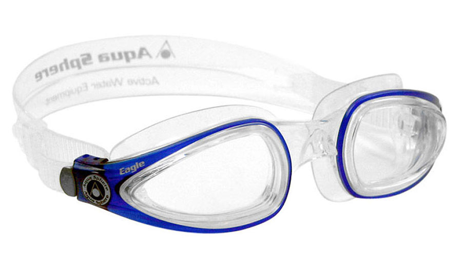 302517f8734 Aqua Sphere Eagle Prescription Swimming Goggles - RxSport