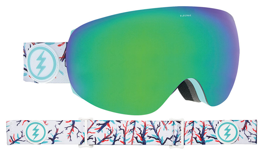 Electric EG3.5 Ski Goggles - Forest / Brose Green Chrome