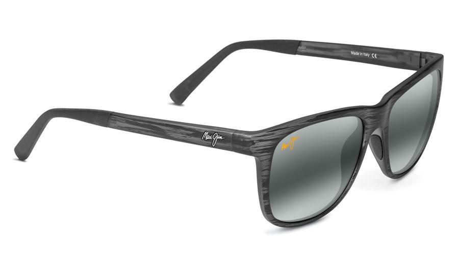 9919a63e5079a Maui Jim Tail Slide Prescription Sunglasses - Matte Grey Stripe ...