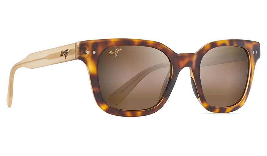 Maui Jim Shore Break Sunglasses - Matte Tortoise with Matte Trans Tan / HCL Bronze Polarised