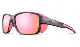 Julbo Monterosa 2 Sunglasses - Matte Dark Purple & Pink / Spectron 3 CF Rose Gold