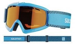 Salomon Kiwi Ski Goggles - Blue / Universal Tonic Orange
