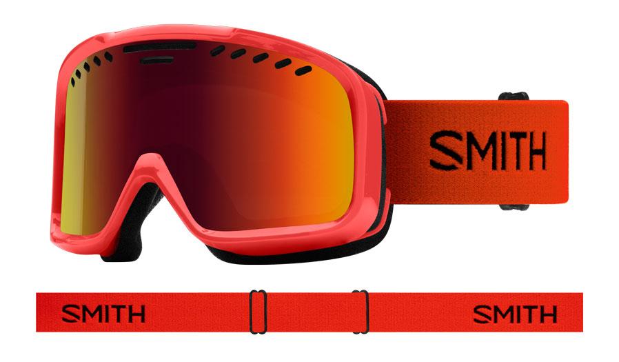 Smith Project Ski Goggles - Rise / Red Sol-X Mirror