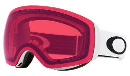 Oakley Flight Deck XM Ski Goggles - Matte White / Prizm Rose
