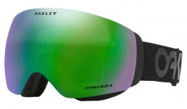 Oakley Flight Deck XM Ski Goggles - Factory Pilot - Factory Pilot Blackout / Prizm Jade Iridium