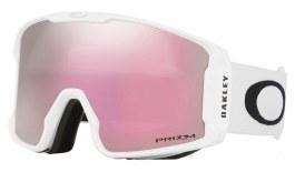 Oakley Line Miner Ski Goggles - Matte White / Prizm HI Pink Iridium