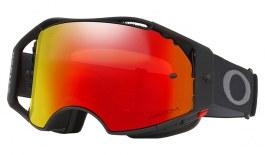 Oakley Airbrake MTB Goggles - Black Gunmetal / Prizm MX Trail Torch