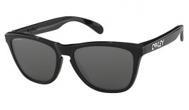 Oakley Frogskins Sunglasses - Polished Black / Prizm Black