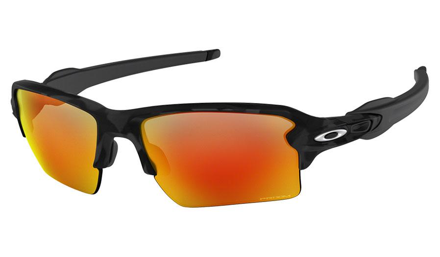 f332e2b1e346e Oakley Flak 2.0 XL Sunglasses. Frame  Black Camo. Lens  Prizm Ruby