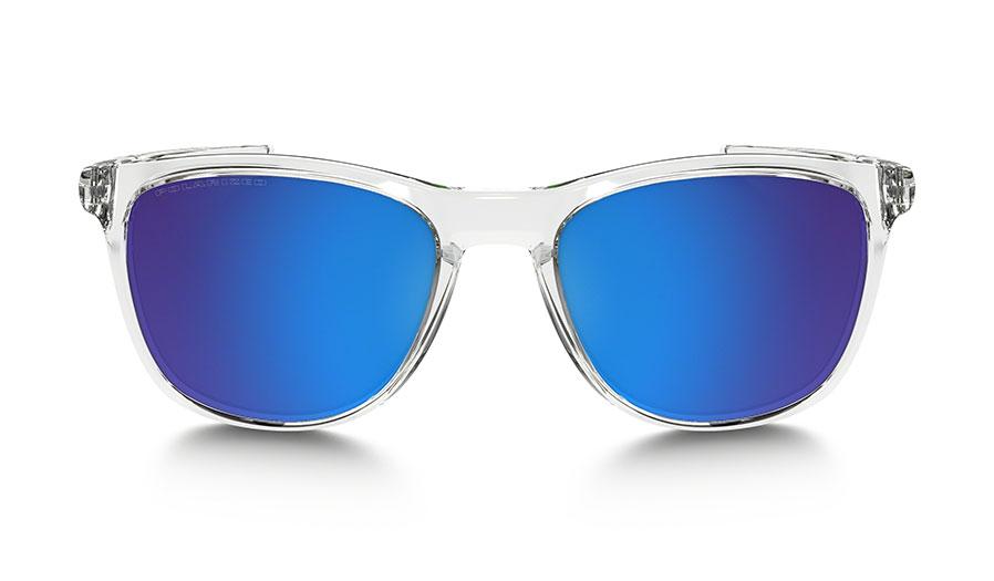 36da04dabab Oakley Trillbe X Sunglasses - Polished Crystal Clear   Sapphire ...