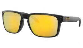 Oakley Holbrook XL Sunglasses - Matte Black / Prizm 24K Polarised