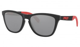 Oakley Frogskins Mix Sunglasses - Marc Marquez Collection - Matte Black Ink / Prizm Black