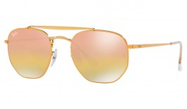 Ray-Ban RB3648 Marshal Sunglasses - Bronze Copper / Pink Gradient Mirror