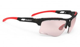 Rudy Project Keyblade Prescription Sunglasses - Clip-On Insert - Carbonium / ImpactX 2 Photochromic Red