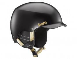 Bern Muse Ski Helmet - Satin Black