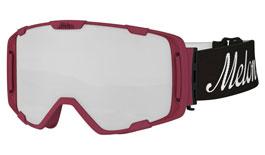 Melon Parker Ski Goggles Matte Burgundy Frame