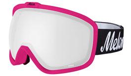 Melon Jackson Ski Goggles Matte Pink Frame