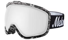 Melon Jackson Ski Goggles Matte Marble Frame