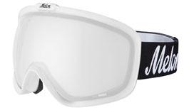 Melon Jackson Ski Goggles Matte White Frame