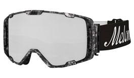 Melon Parker Ski Goggles Matte Marble Frame