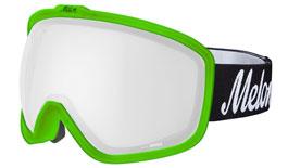Melon Jackson Ski Goggles Matte Bubblegum Green Frame