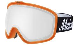 Melon Jackson Ski Goggles Matte Bubblegum Orange Frame