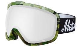 Melon Jackson Ski Goggles Matte Camo Frame