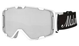 Melon Parker Ski Goggles Matte White Frame