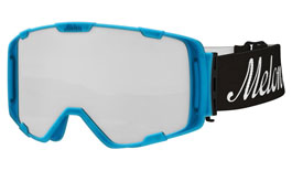 Melon Parker Ski Goggles Matte Bubblegum Blue Frame