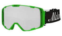 Melon Parker Ski Goggles Matte Bubblegum Green Frame