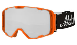 Melon Parker Ski Goggles Matte Bubblegum Orange Frame
