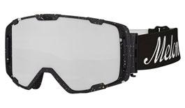 Melon Parker Ski Goggles Matte Paint Splat Frame