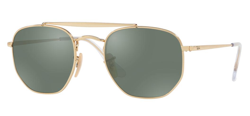 Ray-Ban RB3648 Marshal Prescription Sunglasses - Gold