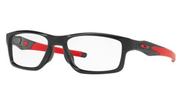 Oakley Crosslink (TruBridge) Prescription Glasses - Polished Black Ink