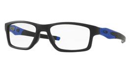 Oakley Crosslink (TruBridge) Prescription Glasses - Cobalt Satin Black