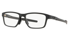 Oakley Metalink Prescription Glasses - Satin Black & Chrome