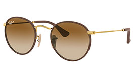 Ray-Ban RB3475Q Round Craft Prescription Sunglasses