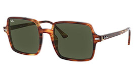 Ray-Ban RB1973 Square II Prescription Sunglasses - Havana