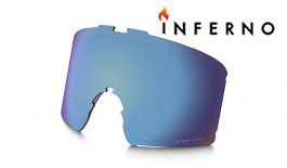 Oakley Line Miner Inferno Ski Goggles Replacement Lens Kit