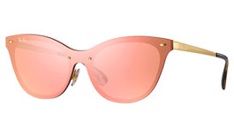 Ray-Ban RB3580N Blaze Cat Eye Sunglasses