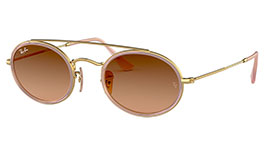 Ray-Ban RB3847N Oval Double Bridge Sunglasses