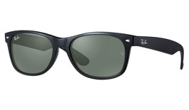 Ray-Ban RB2132 New Wayfarer Prescription Sunglasses - Black