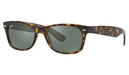 Ray-Ban RB2132 New Wayfarer Prescription Sunglasses - Tortoise