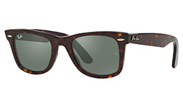 Ray-Ban RB2140 Original Wayfarer Prescription Sunglasses - Tortoise