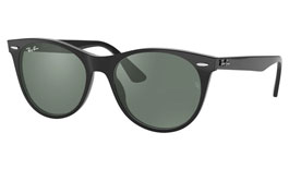 Ray-Ban RB2185 Wayfarer II Prescription Sunglasses - Black